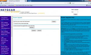 Netgear WNDR3700 router manager