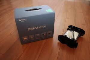 Unboxed DiskStation DS112 with Western Digital WD20EURS-63S48Y0