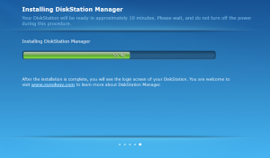 Synology DSM - Migration Setup - DSM Installation