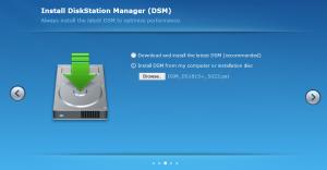 Synology DSM - Migration Setup - DSM Install
