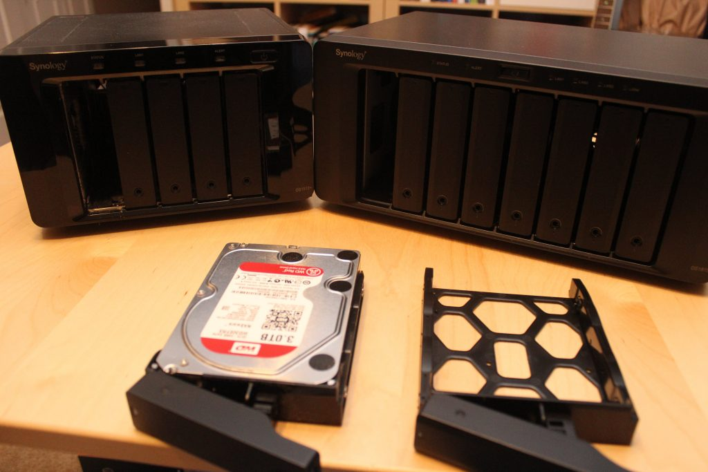 Hard drive migration from DS1512+ to DS1815+