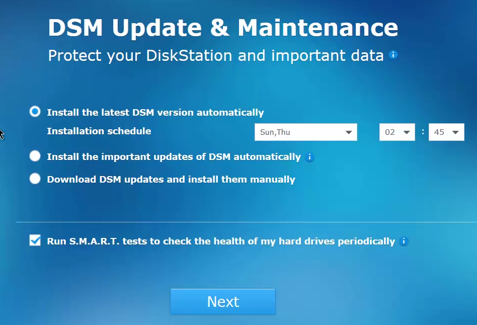dsm-update-and-maintenance