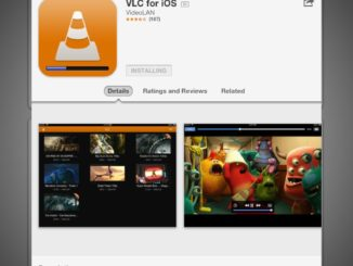 Downloading VLC for iOS from App Store