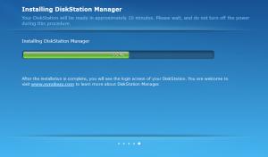 Synology DSM - Migration Setup - DSM Installation