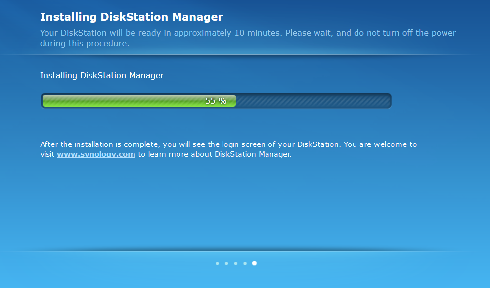 Migration Synology