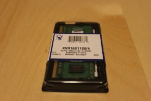 Kingston KVR16S11S8/4 Memory