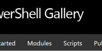 PowerShell Gallery Login