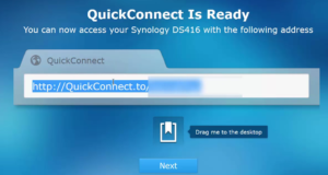 Synology QuickConnect Setup